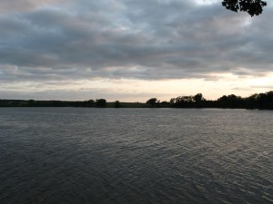 Camping on Lake Adley -- Parkers Prairie, MN