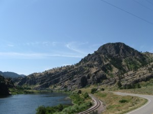 Between Great Falls and Helena