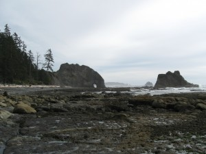 Hole-in-the-Wall along the coastal wilderness